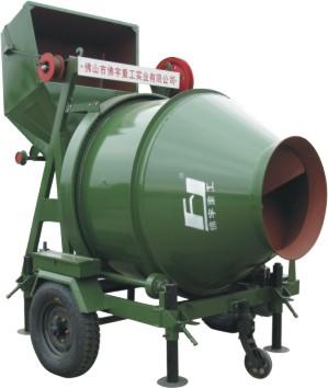 jzc350型锥型反转出料混凝土搅拌机